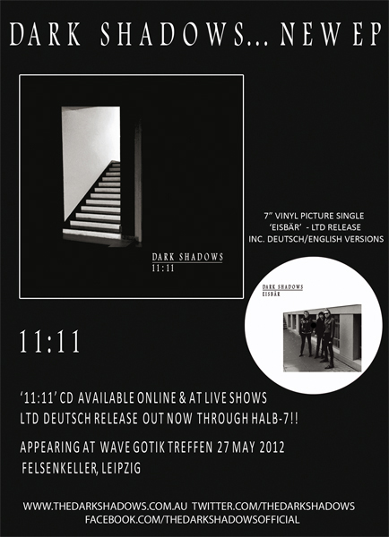 "11:11 Eisbär 7"" Single vinyl picture disc release"