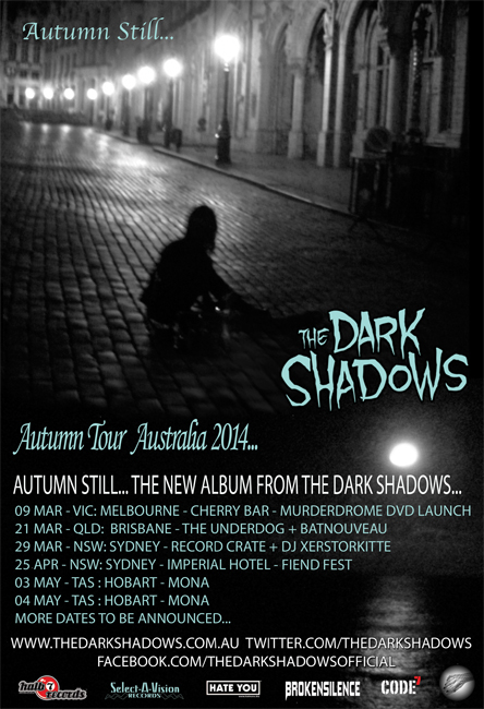 AUTUMN STILL ALBUM LAUNCH AUSTRALIA